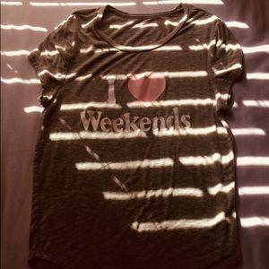 """Tops - """"I Love Weekends"""" Top"""